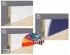 Listwa przypodłogowa MDF 9cm  SKL9 9x1,2x207cm biały półmat wodoodporna, cena za mb