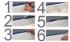 Listwa przypodłogowa MDF 8cm  SKL8/WPC 8x1,6x207cm czarna wysoki połysk wodoodporna, cena za mb