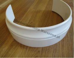 Listwa przypodłogowa MDF  biała wilgocioodporna lakierowana - kolumna, cena za szt.