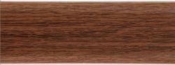 Listwa przypodłogowa PVC  6x2x250cm  SK-003 ciemny orzech, cena za mb.