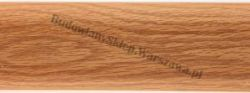 Listwa przypodłogowa PVC  6x2x250cm  SK-008 dąb kanadyjski, cena za mb.