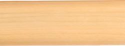 Listwa przypodłogowa PVC  6x2x250cm  SK-009 buk, cena za mb.