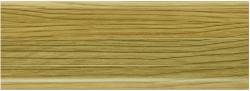 Listwa przypodłogowa PVC  6x2x250cm  SK-022 orzech jasny, cena za mb.