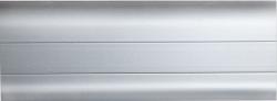 Listwa przypodłogowa PVC  6x2x250cm  SK-023 NOVUM srebrna, cena za mb.