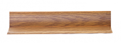 Listwa przypodłogowa narożna PCV LN-SK-008 2,5x250cm , cena za mb.