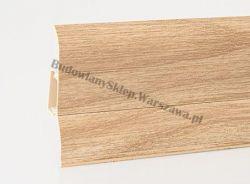 Perfecta 62 Korner listwa przypodłogowa PVC, dąb letni 25-60-0-132, cena za mb
