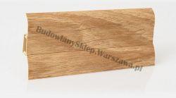 Perfecta 62 Korner listwa przypodłogowa PVC, dąb kalifornijski 25-60-0-142, cena za mb