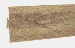 Perfecta 62 Korner listwa przypodłogowa PVC, dąb nostalgia 25-60-0-140, cena za mb