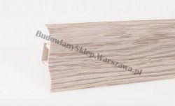 Korner 52 listwa przypodłogowa PVC, dąb biały 25-521-0-425, cena za mb