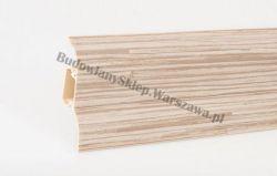 Korner 52 listwa przypodłogowa PVC, trzecina jasna 25-521-0-408, cena za mb