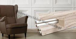 Korner 52 listwa przypodłogowa PVC, sosna bielona 25-521-0-412, cena za mb