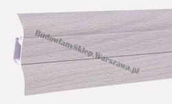 Korner 52 listwa przypodłogowa PVC, jesion szary 25-521-0-485, cena za mb