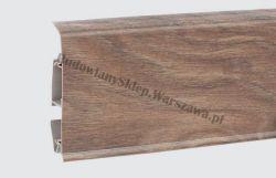 EVO Korner listwa przypodłogowa PVC, drzewo sandałowe 25-71-0-004E , cena za mb
