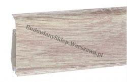 EVO Korner listwa przypodłogowa PVC, alabaster 25-71-0-024E , cena za mb