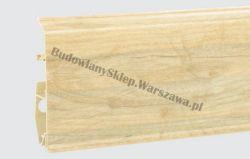 EVO Korner listwa przypodłogowa PVC, dąb pastelowy 25-71-0-018E , cena za mb