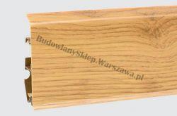 EVO Korner listwa przypodłogowa PVC, dąb rustykalny 25-71-0-021E , cena za mb