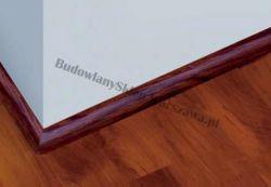 Ćwierćwałek KORNER listwa przypodłogowa wykończeniowa PCV, BUK ZŁOTY 25-15-094, cena za mb