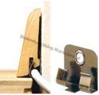Listwa przypodłogowa okleinowana fornirem dębowym  SKDBA5820 - szer. 20mm x wys. 58mm, cena za mb