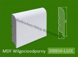 Cokół MDF lakierowany wilgocioodporny biały SKWD32/18,34PLUS - szer. 19mm x wys. 100mm, R1, cena za mb