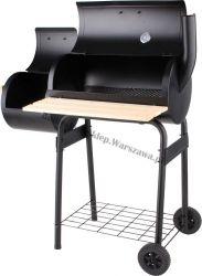 Węglowy grill ogrodowy z wędzarnią 99513 60cm Toya