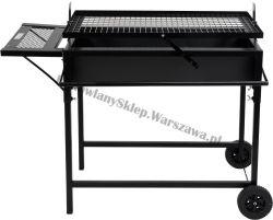Węglowy grill ogrodowy otwarty 99520 81x50cm Toya
