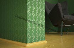 Listwa przypodłogowa sosna bezsęczna SKS1919/210- szer. 19mm x wys. 19mm, cena za mb