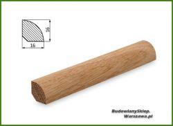 Listwa przypodłogowa dąb bezsęczna SKD1616/170 - szer. 16mm x wys. 16mm, cena za mb