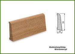 Listwa przypodłogowa cokół dąb bezsęczna SKD5516/55 - szer. 16mm x wys. 55mm, cena za mb