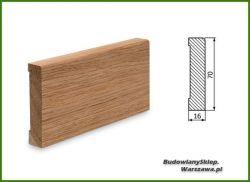 Listwa przypodłogowa cokół dąb bezsęczna SKD7016/40 - szer. 16mm x wys. 70mm, cena za mb