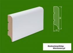 Cokół MDF lakierowany biały SKWD37/23,58.. - szer. 19mm x wys. 80mm, R10, cena za mb
