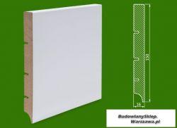Cokół MDF lakierowany biały SKWD10/13,1.. - szer. 16mm x wys. 150mm, R1, cena za mb