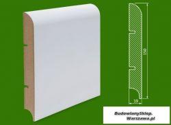Cokół MDF lakierowany biały SKWD33/10,48.. - szer. 19mm x wys. 150mm, R1, cena za mb