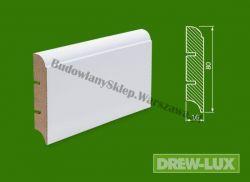 Cokół MDF lakierowany biały SKWD16/26,2 - szer. 16mm x wys. 80mm, R10F, cena za mb
