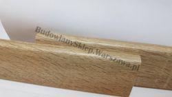 Listwa przypodłogowa orzech capri 8cm MDF 80x16mm , cena za mb