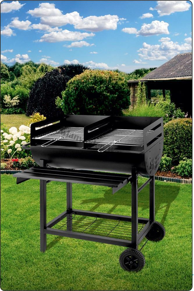 Węglowy grill ogrodowy otwarty 99519 36x39cm Toya