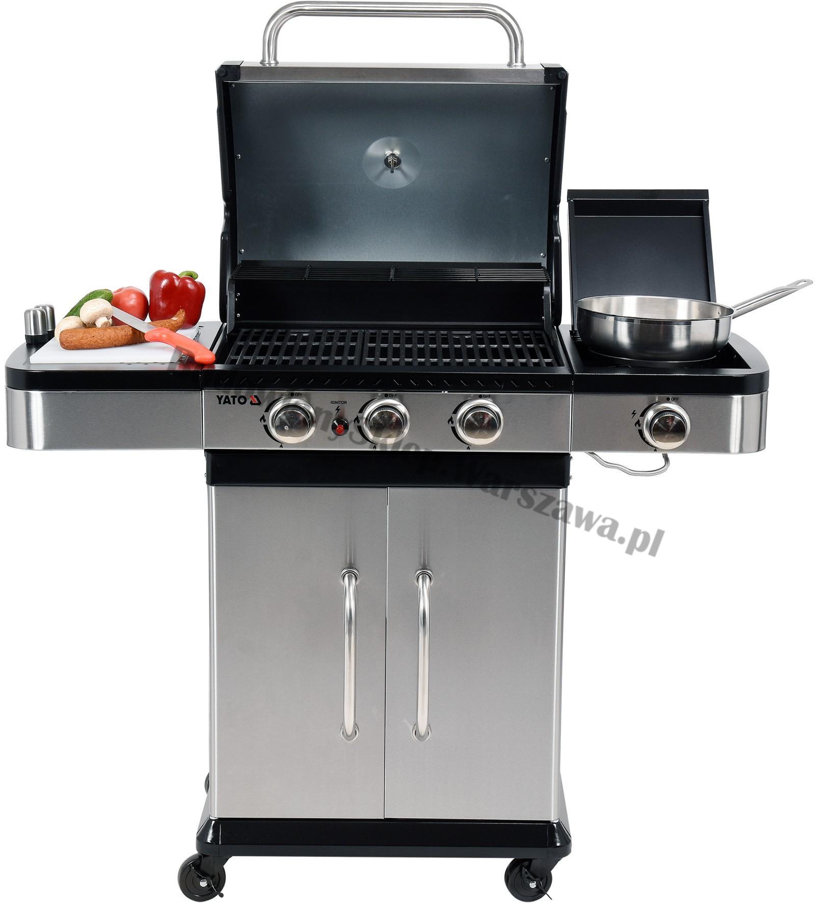 Profesjonalny grill gazowy YG-20002 10,6kw Toya