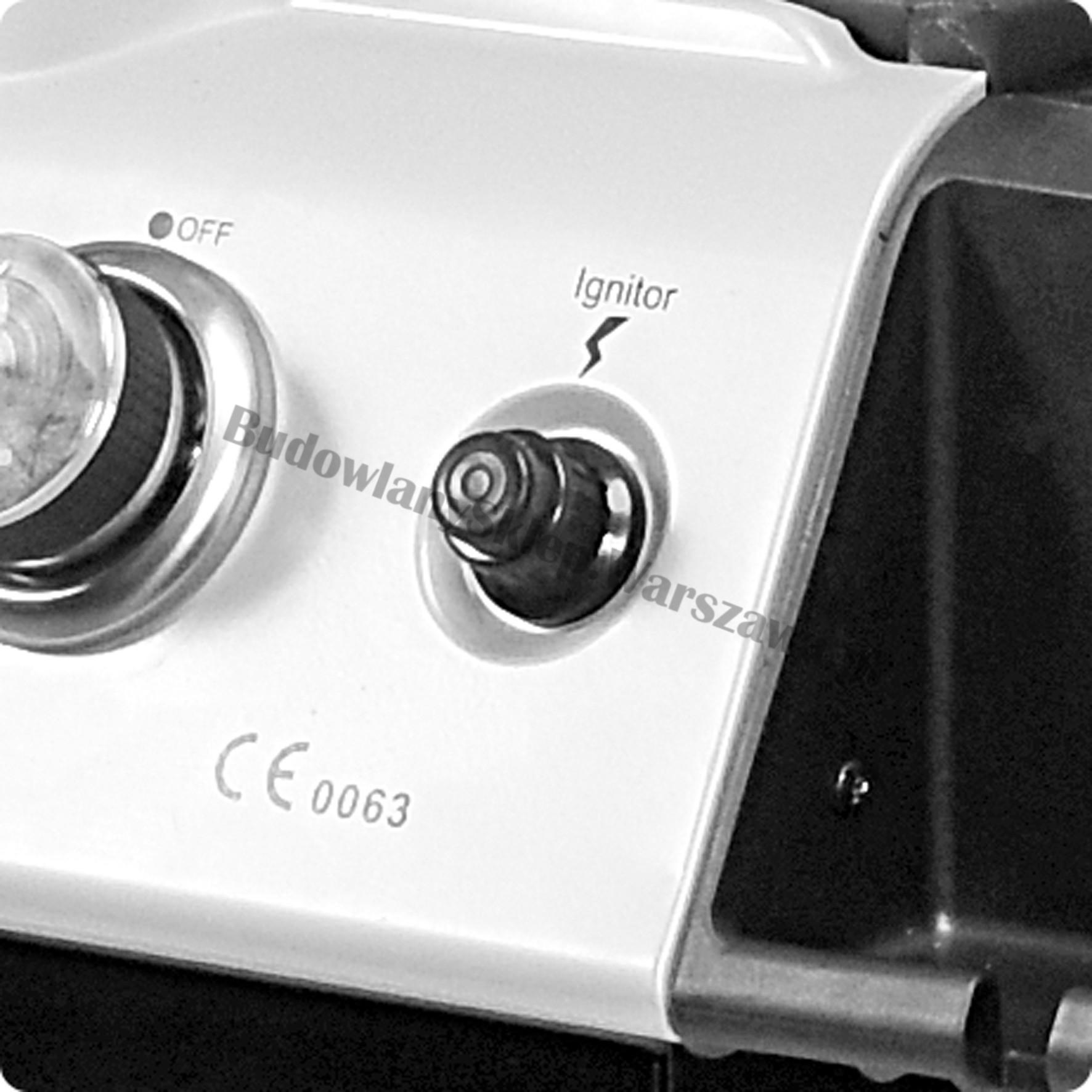 Profesjonalny grill gazowy LED  YG-20001 9kw Toya
