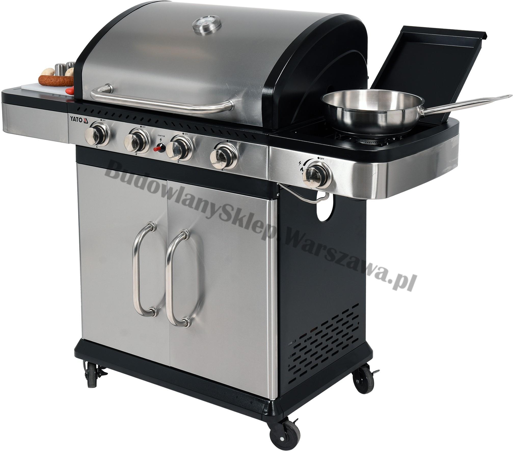 Profesjonalny grill gazowy YG-20011 13,3kw Toya