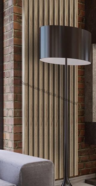Lamele dekoracyjne panele pionowe listwy 3d ozdobne na ścianę lub sufit 2,8m kolor ANTRACYT