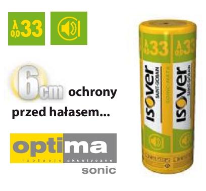System Welny Mineralnej Optima Sonic Isover Eps 033 Grubosc 6 Cm 2