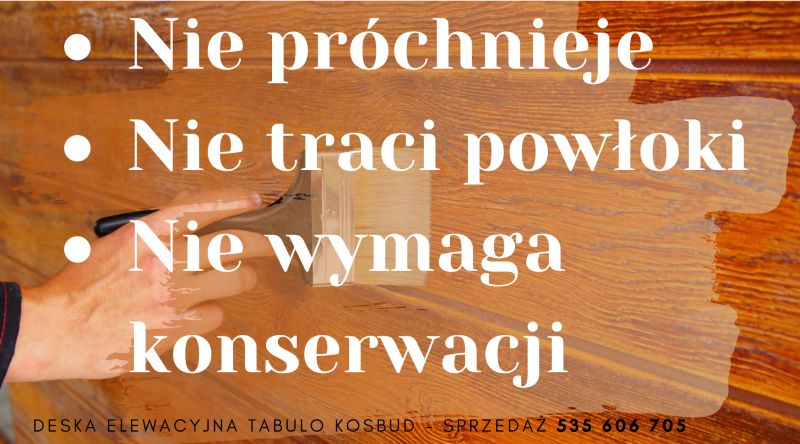 Deska elewacyjna Tabula Kosbud imitacja drewna