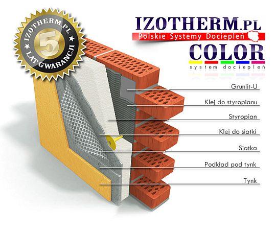 Izotherm COLOR SYSTEM dociepleń